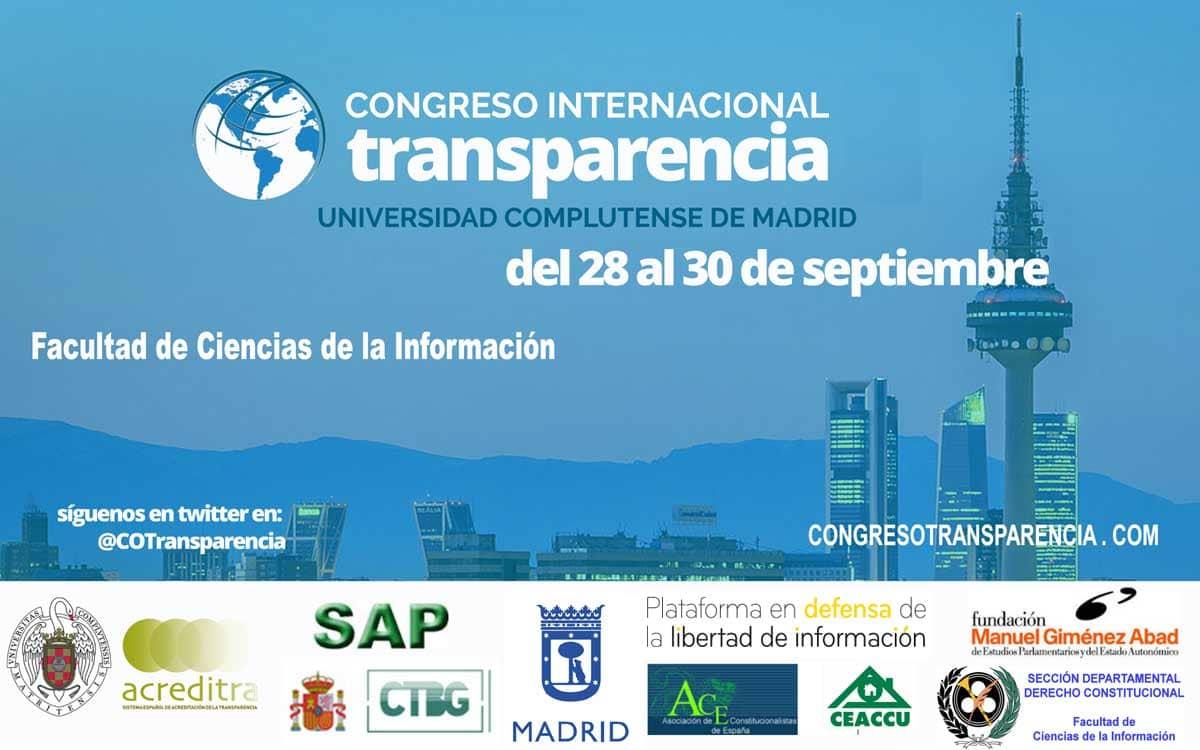 I Congreso Internacional de la Transparencia - CIT 2016
