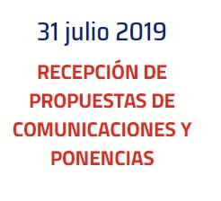 Se prorroga el plazo de recepción de propuestas de ponencias y comunicaciones hasta el 31 de julio de 2019